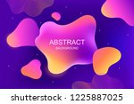 modern abstract background. ... | Shutterstock .eps vector #1225887025