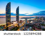 xiamen siming district urban... | Shutterstock . vector #1225894288