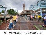 samut sakhon  thailand june 20  ... | Shutterstock . vector #1225905208