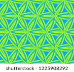traditional geometric seamless... | Shutterstock .eps vector #1225908292