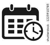 working schedule icon | Shutterstock .eps vector #1225910785