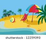 summer | Shutterstock .eps vector #12259393