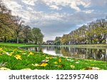 leeuwarden  the netherlands ... | Shutterstock . vector #1225957408