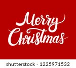 merry christmas greeting card...   Shutterstock .eps vector #1225971532