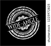wide angle chalkboard emblem... | Shutterstock .eps vector #1225972825