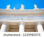 rome  vatican state. details of ...   Shutterstock . vector #1225982572