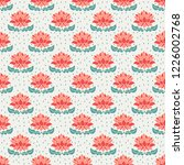 seamless floral pattern | Shutterstock .eps vector #1226002768