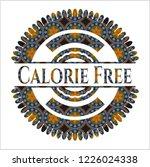calorie free arabic badge.... | Shutterstock .eps vector #1226024338
