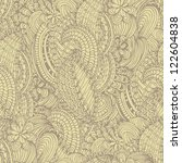stylish vintage vector pattern | Shutterstock .eps vector #122604838