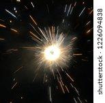sparkle cracker celebration... | Shutterstock . vector #1226094838
