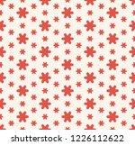 raster minimalist floral... | Shutterstock . vector #1226112622