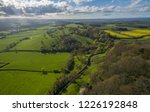 countryside aerial view | Shutterstock . vector #1226192848