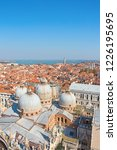 aerial view of the venice city  ...   Shutterstock . vector #1226195695