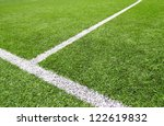 soccer field grass on the green | Shutterstock . vector #122619832