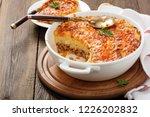 shepherd's pie  traditional... | Shutterstock . vector #1226202832