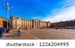 capitol square in toulouse in... | Shutterstock . vector #1226204995