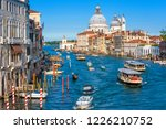 grand canal in venice  italy.... | Shutterstock . vector #1226210752