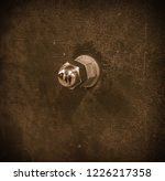rusty metal surface with a...   Shutterstock . vector #1226217358