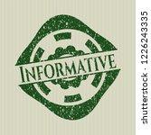 green informative distress... | Shutterstock .eps vector #1226243335