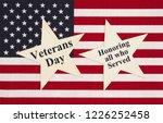 united states of america flag... | Shutterstock . vector #1226252458