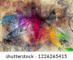 3d rendering of digital... | Shutterstock . vector #1226265415