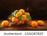 fresh mandarin oranges fruit or ... | Shutterstock . vector #1226287825