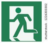 Emergency Exit Sign  Left  ...