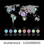 iot platform future technology. ... | Shutterstock . vector #1226308342