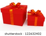 gift boxes | Shutterstock . vector #122632402