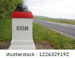 Road Sign  Verdun  France