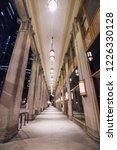 vintage retro city covered...   Shutterstock . vector #1226330128