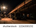 dark and scary downtown urban...   Shutterstock . vector #1226330152