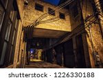 dark and scary downtown urban...   Shutterstock . vector #1226330188