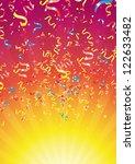 carnaval explosion 1 | Shutterstock .eps vector #122633482