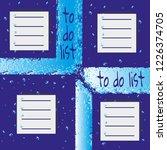 set of to do list in frames... | Shutterstock .eps vector #1226374705