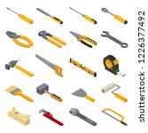 hand tool vector construction... | Shutterstock .eps vector #1226377492