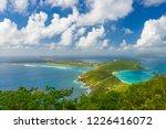 virgin gorda in the british... | Shutterstock . vector #1226416072