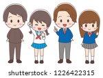 student set of 4   Shutterstock .eps vector #1226422315
