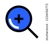zoom in  zoom  search  find ... | Shutterstock .eps vector #1226436772