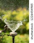 defocused  splashing water ... | Shutterstock . vector #1226454985