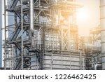 industrial zone the equipment... | Shutterstock . vector #1226462425
