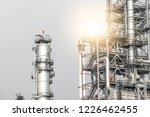 industrial zone the equipment... | Shutterstock . vector #1226462455