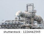 industrial zone the equipment... | Shutterstock . vector #1226462545