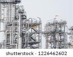 industrial zone the equipment... | Shutterstock . vector #1226462602