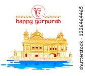 illustration of happy gurpurab  ... | Shutterstock .eps vector #1226464465