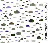 dark blue vector seamless... | Shutterstock .eps vector #1226473558