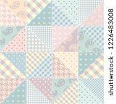 seamless background pattern.... | Shutterstock .eps vector #1226483008