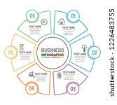 modern infographics template | Shutterstock .eps vector #1226483755