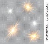 glow light effect. vector...   Shutterstock .eps vector #1226496658