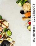 asian food background | Shutterstock . vector #1226500075